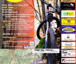 Locandina: Cicloturistica 'Le Vie del Marrone'