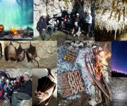 Locandina: HalloweenTrek in notturna alla Grotta della Dea Vacuna