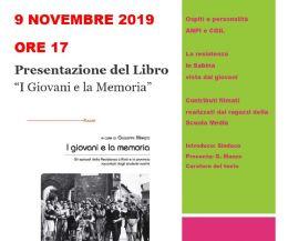 Locandina: I Giovani e la Memoria