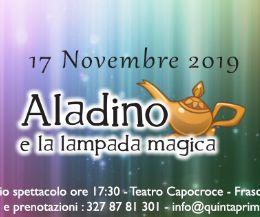 Locandina: Lo Scrigno delle Favole 'Aladino e la lampada magica'