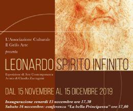 Locandina: Leonardo spirito infinito