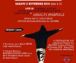 Locandina: Assalti Frontali live