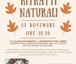 Locandina: Ritratti naturali... Giochiamo con l'#Autunno