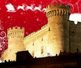Locandina: Babbo Natale e la renna Natalina