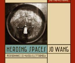 Locandina: Jo Wang. Herding Spaces