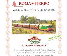 Locandina: Treno storico Roma-Viterbo