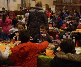 Locandina: 6 laboratori con i mattoncini Lego® e un concorso