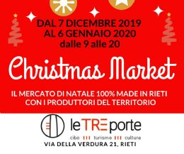 Locandina: Christmas Market 100% Made in Rieti