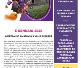 Locandina: Aspettando la Befana a Valle Ferrara