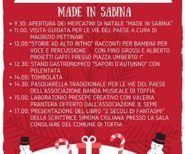 Locandina: Aspettando il Natale. Made in Sabina