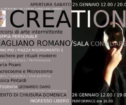 Locandina: Creation. Mostra di arte contemporanea itinerante
