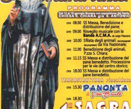 Locandina: Festa di Sant'Antonio Abate