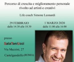 """Locandina: Per la prima volta in Italia il metodo """"Artista e Contento"""" ©"""