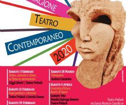 Locandina: 8 spettacoli per la Stagione di Teatro Contemporaneo 2020