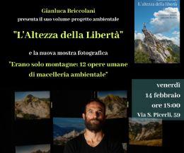 Locandina: L'altezza della libertà. Viaggio nell'essenziale bellezza delle Alpi Apuane