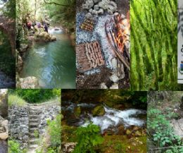 Locandina: Nella meravigliosa gola del Farfa (Monumento Naturale del Lazio) e la grigliata alla brace