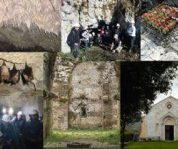 Locandina: Trek + esplorazione grotta della dea Vacuna e la grigliata alla brace