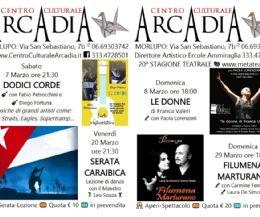 Locandina: Centro Culturale Arcadia