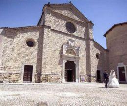 Locandina: Comunicazione dell'Abbazia di Farfa, Comunità Benedettina