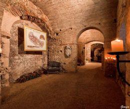Locandina: Programma delle visite guidate alla Rieti Sotterranea e Rieti Sottosopra