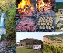 Locandina: Dalle Pozze del Diavolo alla Cima del Monte Ode con polenta alla brace al Casale Fatucchio