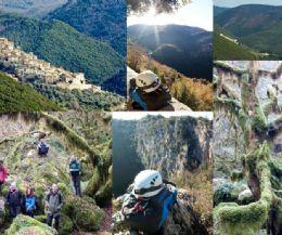Locandina: La sorprendente dolina carsica del Revotano, laggiù nel suo smeraldo profondo ed il pranzo estivo