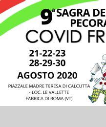 Locandina: Sagra della Pecora Fabrica di Roma 2020