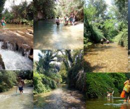 Locandina: Trek acquatico dentro il torrente del Farfa ed il pranzo estivo