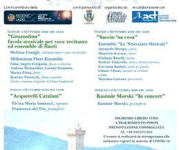"""Locandina: """"Voglia D'Estate"""", ciclo di concerti della Camera Musicale Romana"""