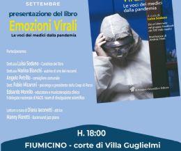 Locandina: Emozioni Virali. Le voci dei medici dalla pandemia