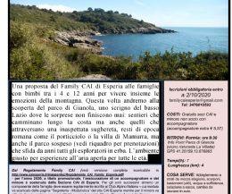 Locandina: Famiglie con bambini... in montagna