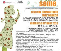 Locandina: Festival Comunitario dell'Infanzia