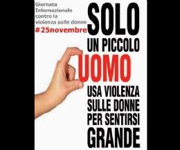 Locandina: No alla violenza