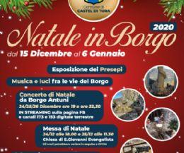 Locandina: Natale in Borgo 2020