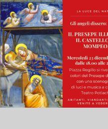 Locandina: Il presepe di Giotto a Mompeo
