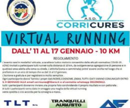 Locandina: Virtual running di 10 km