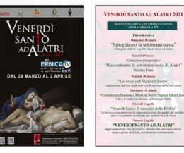Locandina: Alatri, il Venerdì Santo prende vita