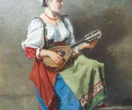 Locandina: Corot e la ciociara col mandolino