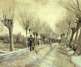 Locandina: Van Gogh e i platani capitozzati