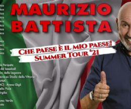 Locandina: Che paese è il mio paese. Summer Tour '21