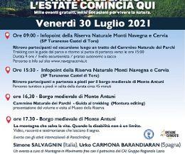 Locandina: Parchi del Lazio. L'estate comincia da qui