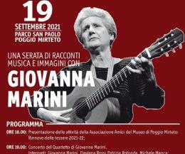 Locandina: Concerto del Quartetto di Giovanna Marini e presentazione film