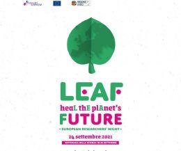 Locandina: Notte della Ricerca LEAF