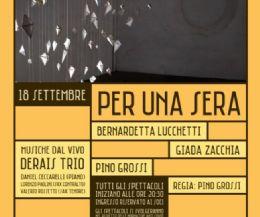 Locandina: Per una sera…
