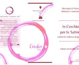 Locandina: In cerchio per la Sabina