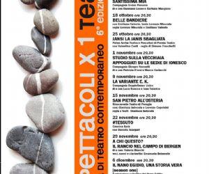 Locandina: 10 spettacoli per 1 teatro