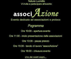 Locandina: associAzione, il 23 novembre a Palombara Sabina (Rm)