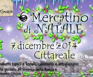 Locandina: Mercatino di Natale a Cittareale