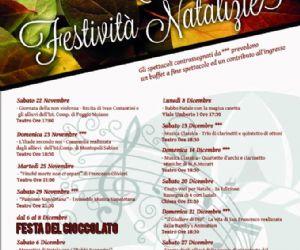 Locandina: Autunno Culturale & Festività Natalizie