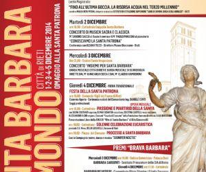 Locandina: Santa Barbara nel Mondo